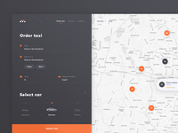 Taxi Web UI