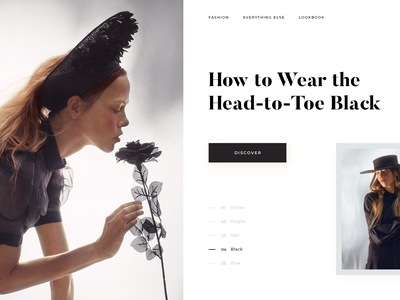 Vua. web ux ui art product landing fashion photograpgy design giga tamarashvili
