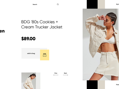 RHB tamarashvili giga web ux ui art product landing fashion photograpgy design