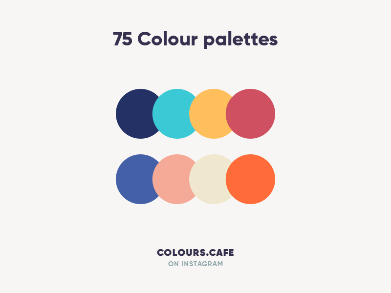 Colours.Cafe palettes color palette palette clean color colors combine giga scheme tamarashvili uidesign userinteface