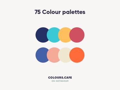 Colours.Cafe palettes color palette palette clean color colors combine giga scheme tamarashvili uidesign userinteface