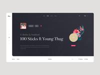 Mus. spotify playlist album play artist landing player web music