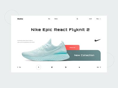 Shotime fashion ecommerce shop sneaker nike shoe checkout cart
