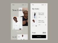 Shop App UI