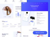 Partners page
