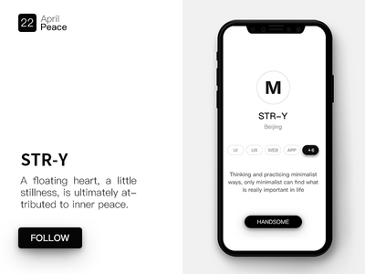 Daily UI #039 brand brandidentity landingpage top sketch ux ui simple minimalist light design app
