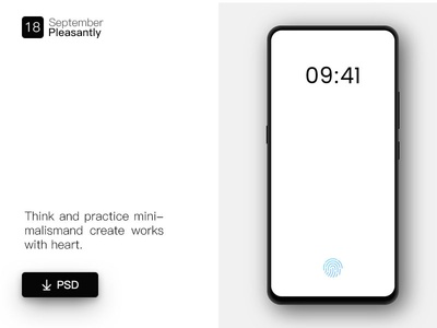 Vivo Psd psd mockup simple vivo light design ux ui