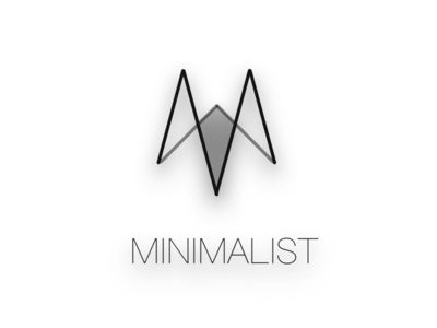 minimalist institute logo black white idea light design ux ui minimalist