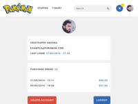 Pokemon Shop - Profile
