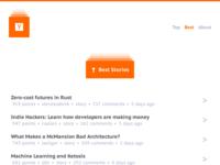 Minimal Hacker News - Best Stories