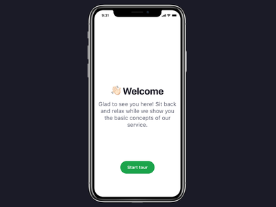 Onboarding component user experience app design figma onboarding screen component design ux ui prototype animation transition stepper onboarding