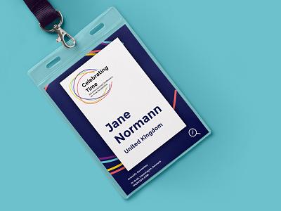Name tag marketing conference festival badge name tag