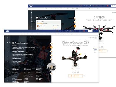 Product Page walkera top 10 product page product presentation multirotor item featured ecommerce drone commerce