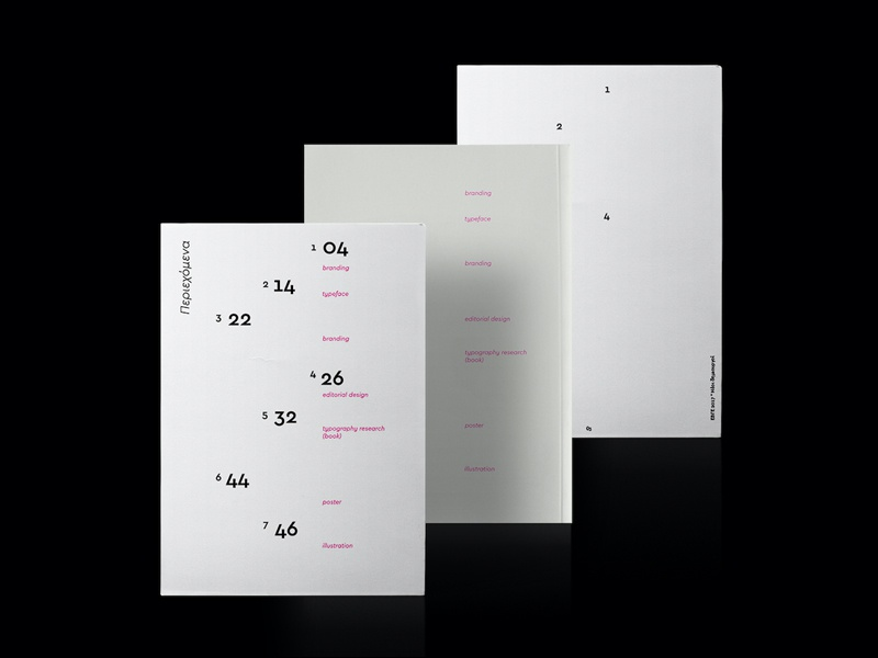 Typo Cards book layout typography inspiration design editorial