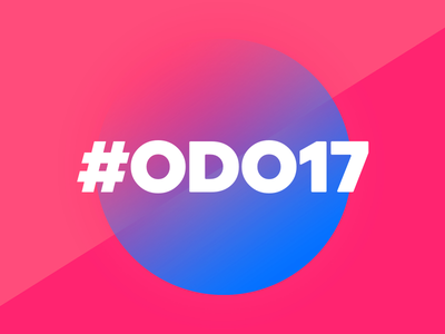 #ODO17 v2 one day out conference odo colors
