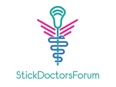 StickDoctorsForum.com Logo logo lacrosse