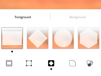Icons and UI for an app ui icons app