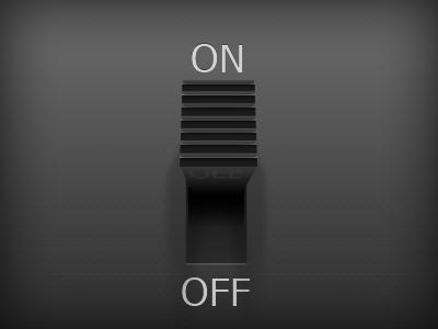 Slide Switch switch button