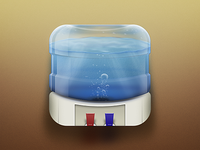 Water Cooler iOS Icon