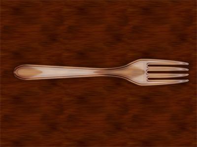 Plastic Fork fork plastic single layer style