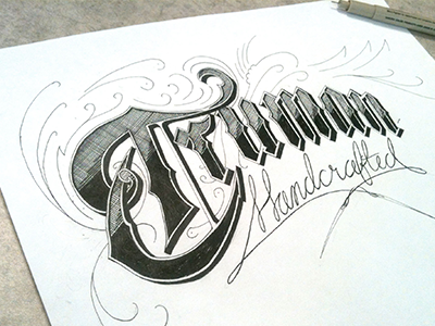 Hand Lettering for Fun hand lettering typography sketching