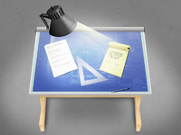 Drafting table lg