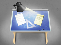 Drafting Table Icon