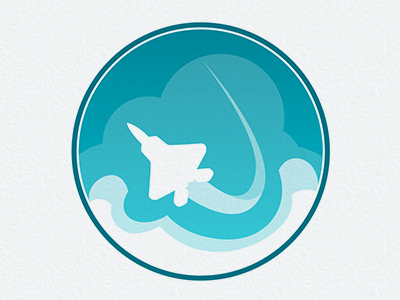 Jet Logo logo jet clouds