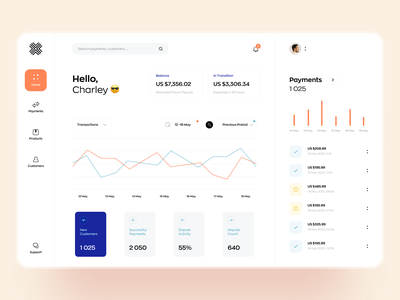 Payment processing platform. Dashboard concept. ui statistics sales e commerce analytics awsmd dashboard interface chart graphics data visualization cards ui transactions payments finance app web app website product design fintech app banking dashboard ui