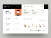 Saas Dashboard Concept payment interaction data visualization data art illustration graphics graph awsmd minimal interface dashboard fintech finance wallet application product design web design ux ui