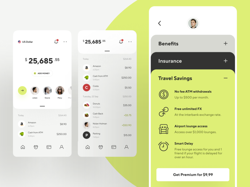 Online banking - finance app concept graphics transfer budget amount bank minimal creative awsmd spending travel transactions fintech finance app banking app banking wallet product design mobile ux ui