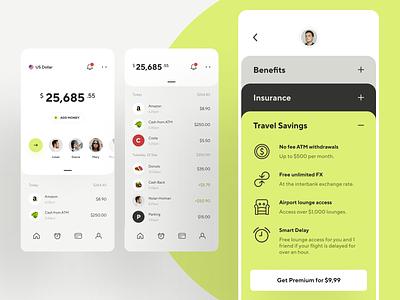 Online banking - finance app concept graphics transfer budget amount bank minimal creative awsmd spending travel transactions fintech finance app banking app banking wallet product design mobile ux ui