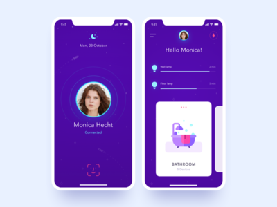 Smart Home App by 𝐀𝐍𝐓𝐎𝐍 𝐌𝐈𝐊𝐇𝐀𝐋𝐓𝐒𝐎𝐕 - Dribbble
