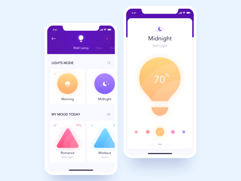 Smart Home App smart home ios home controls profile creative ux ui mobile application app