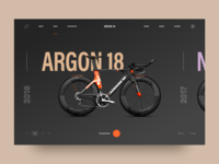 Argon 18: e-commerce ui design