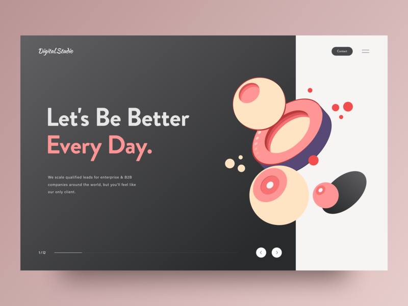 Landing Page Concept landing fashion illustration vector product typography minimal interface landing page layout interaction awsmd design creative ux ui