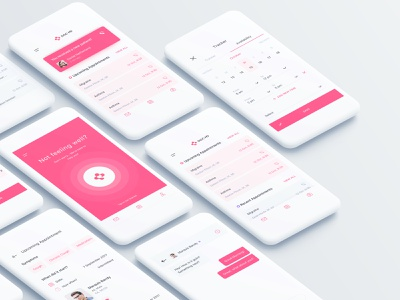 Doc Md - physician and healthcare application minimal clean interaction design creative ux awsmd appointment medicine interface health app health care hospital analytics dashboard app analytics healthcare medical doc docmd