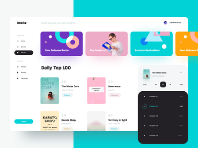 A good book has no ending book bookstore book app store ecommerce awsmd interface clean 2019 creative interaction landing page layout design ui app minimal typography product profile
