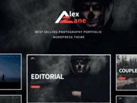Alex Zane - Photo/Portfolio WordPress Theme