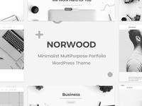 Norwood - Minimalist MultiPurpose Portfolio WordPress Theme woocommerce responsive portfolio multi purpose minimal magazine creative corporate clean business blog agency