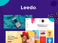 Leedo - Modern, Colorful & Creative Portfolio WordPress Theme woocommerce portfolio photography personal parallax modern gallery creative corporate colorful clean business bold blog agency