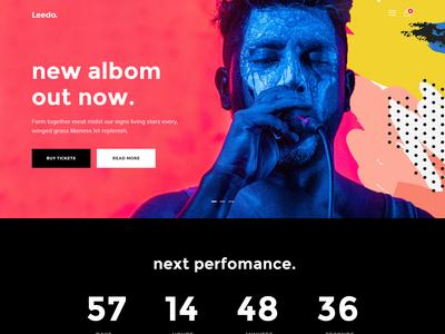 Leedo – Modern, Colorful & Creative Portfolio WordPress Theme