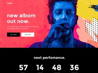 Leedo – Modern, Colorful & Creative Portfolio WordPress Theme events personal vcard cv videographer modern portfolio