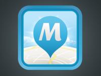 """""""M"""" App icon"""