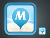 """""""M"""" iOS App Icon"""