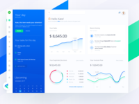 Fiskl financial app - desktop