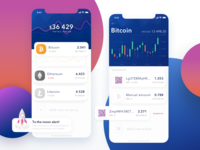 Coin Tracker mobile cryptocurrency app