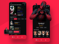 CineMe 🎬 mobile app for movies and tv shows