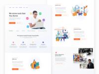 Finance Website - Redesign