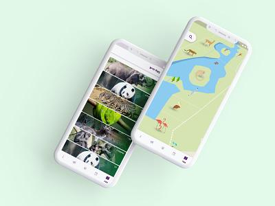 Biblical Zoo app zoo biblical map design map screens hebrew apps ui 200apps app design